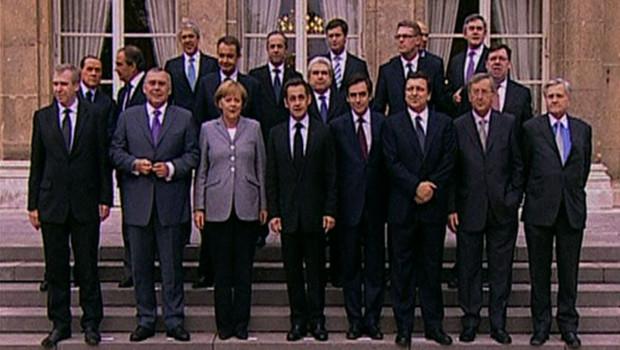 Eurogroupe Elysée crise fiancière