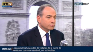 Jean-François Copé sur le plateau BFM TV - 18 décembre 2012