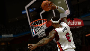 LeBron James, ambassadeur du jeu NBA 2K14