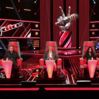 Les coachs sur le plateau de The Voice saison 2