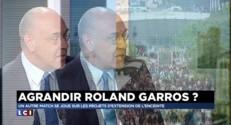 """Agrandissement de Roland Garros : """"A terme, un enjeu de survie pour le tournoi"""""""