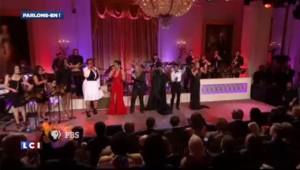 Aretha Franklin à la Maison Blanche