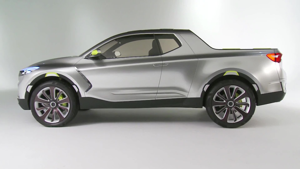 vid o automoto hyundai santa cruz crossover concept 2015 pr sentation officielle mytf1. Black Bedroom Furniture Sets. Home Design Ideas