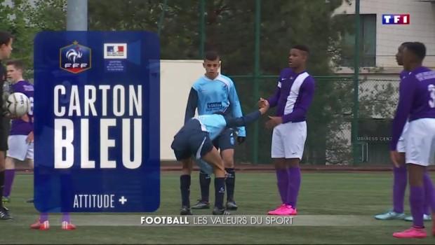 Football : ce week-end le carton bleu remplace le rouge et le jaune