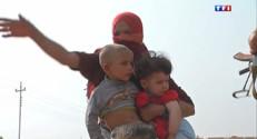 Le 13 heures du 21 août 2014 : Irak : des habitants des villages lib�s soup�n�d'�e des jihadistes - 522.3634278411864