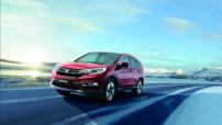 Léger restylage pour le CR-V, le dernier SUV de Honda, lancé en 2015 sur le marché européen.