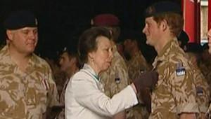 prince Harry Afghanistan médaille