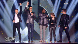 will.i.am et les finalistes