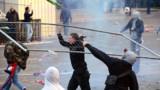 PSG : deux mois ferme pour l'auteur de jets de bouteille sur des policiers