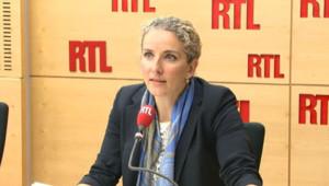 Delphine Batho sur le plateau de RTL