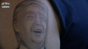 États-Unis : se tatouer Donald Trump sur l'épaule ? Ce partisan l'a fait