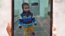 La photo de Marcus, 2 ans, disparu, montrée par son oncle