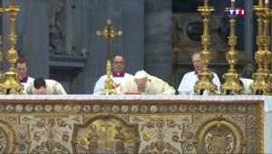 """Le 13 heures du 12 avril 2015 : """"Génocide arménien"""" : le Pape prend position - 186.13"""