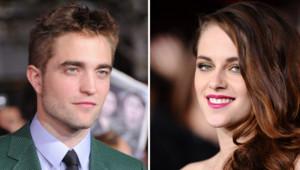 Robert Pattinson et Kristen Stewart à l'avant-première mondiale de Twilight 5, le 12 novembre 2012 à Los Angeles.