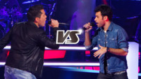 Jo Soul et Anthony Touma interprètent « Locked Out of Heaven » (Bruno Mars)