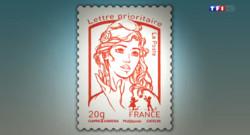 """Le 20 heures du 8 février 2014 : Pol�que autour du """"timbre Femen"""" - 1268.6946478881837"""