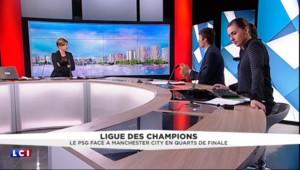 """Ligue des champions: """"Un tirage assez clément"""" pour le PSG face à Manchester City en quart de finale"""