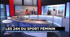 """24 du sport féminin : le tennis féminin """"doit servir d'exemple"""""""