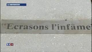 Des plaques en hommage à Voltaire truffées de fautes