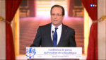 Franois Hollande lors de sa confrence de presse du 16 mai 2012