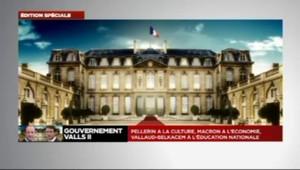 Valls II : la composition du nouveau gouvernement