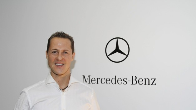 Michael Schumacher chez Mercedes-Petronas