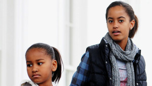 Sasha et Malia Obama