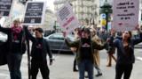 Manif à paris pour abolir la prostitution
