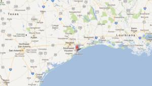 Localisation de Texas City