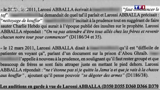 """Couple de policiers tués : Abballa avait exprimé sa """"soif de sang"""""""
