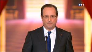 Le 20 heures du 16 mai 2013 : Les annonces de Fran�s Hollande - 344.907