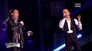 Nuno Resende et Florent Pagny