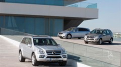 Photo 1 : Mercedes GL, ML et R 350 BlueTEC : A nous l'Europe