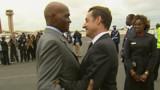 Sarkozy à Dakar pour exposer sa vision de l'Afrique