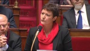 Anne Grommerch, députée désormais membre du groupe filloniste du RUMP, le 5 décembre 2012