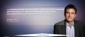 """Débats sur la laïcité : """"Valls est pris en tenaille entre Hollande et Macron"""""""