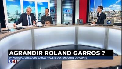 """Extension de Roland Garros : """"Un projet magnifique qui répond à une logique"""""""