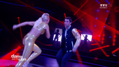 Un Jive pour Brian Joubert et Katrina Patchett sur « Video Games » (The Baseballs)