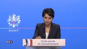 """Vallaud-Belkacem dénonce les propos """"assez intolérables"""" de Cherki"""