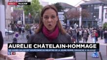 A Villejuif, des centaines de personnes se réunissent en hommage à Aurélie Châtelain