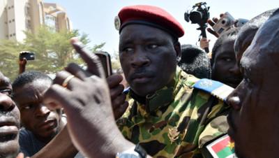 Burkina Faso : Isaac Zida, le 31/10/14