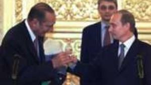 Chirac et Poutine