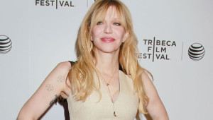 Courtney Love le 20 avril 2015 à Los Angeles
