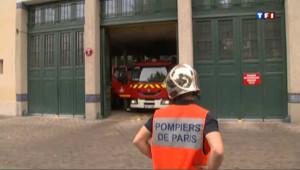Des pompiers