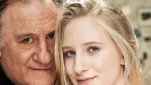 Gérard Depardieu avec sa petite-fille Louise en une du magazine Gala