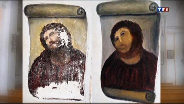 Le Christ défiguré a ses admirateurs