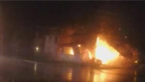 MAISON incendie michigan pompiers