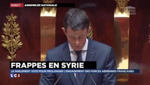 """Manuel Valls : """"Daech veut nous frapper, nous frapperons plus fort"""""""