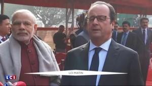 """Vidéo de Daech : """"Rien ne nous effraiera"""" lance Hollande"""