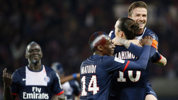 Belle victoire pour le PSG le 18 mai 2013